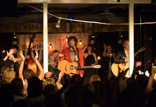 Gary Lightbody and Peter Buck's supergroup TIRED PONY delight the crowd at Bushmills Live 2014, the festival ...