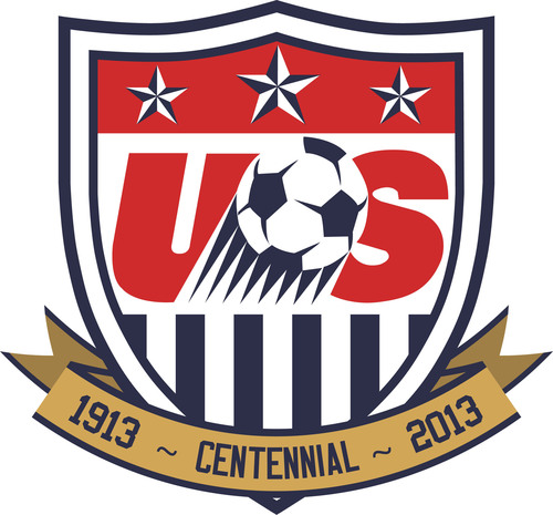 In commemoration of its 100th anniversary, U.S. Soccer is celebrating its Centennial anniversary with a week of activities in New York City, including the closing bell of the New York Stock Exchange, events in Times Square and City Hall, and the lighting of the Empire State Building. U.S. Soccer Centennial Week will span from Tuesday, April 2, through Friday, April 5 and is a continuation of a year-long celebration honoring the history of the game.  (PRNewsFoto/U.S. Soccer)