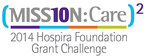 Hospira Foundation announces The Leukemia & Lymphoma Society as winner of $100,000 (Mission: Care)2 grant.
