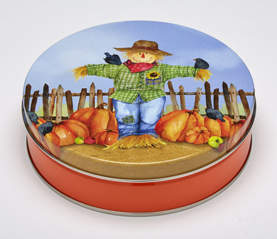Ball's Scarecrow Simon specialty tin won a bronze award from the Specialty Graphic Imaging Association.