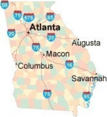 Georgia Freeway Map