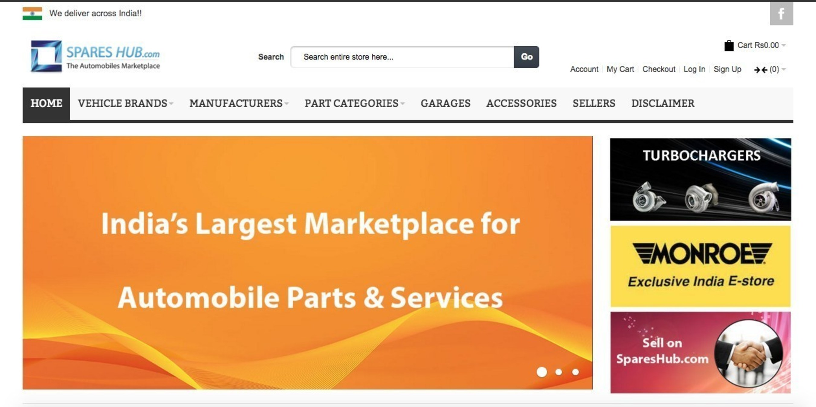 Indian Automotive Internet Startup SparesHub.com Grows & Raises Pre-Series-A Investment