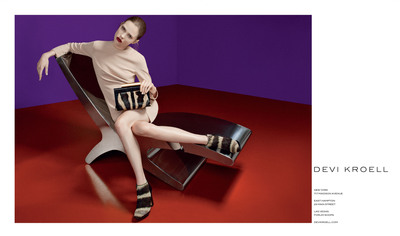 Devi Kroell Presents the Fall Winter 2012/13 Advertising Campaign