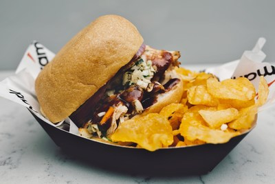Aramark is celebrating National Sandwich Day, November 3, by rolling out a new roster of sandwiches at the NHL and NBA arenas it serves, including the BBQ Turkey Sandwich, from the AT&T Center, home of the San Antonio Spurs.