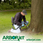 Innovative Trunk Injections From Arborjet Saved 350,000 Trees From Destructive Pests in 2011.  (PRNewsFoto/Arborjet)