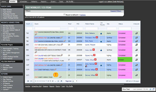 Synapse® RIS 6.2 Automates, Streamlines Workflow For Dozens Of Radiology Information System Tasks