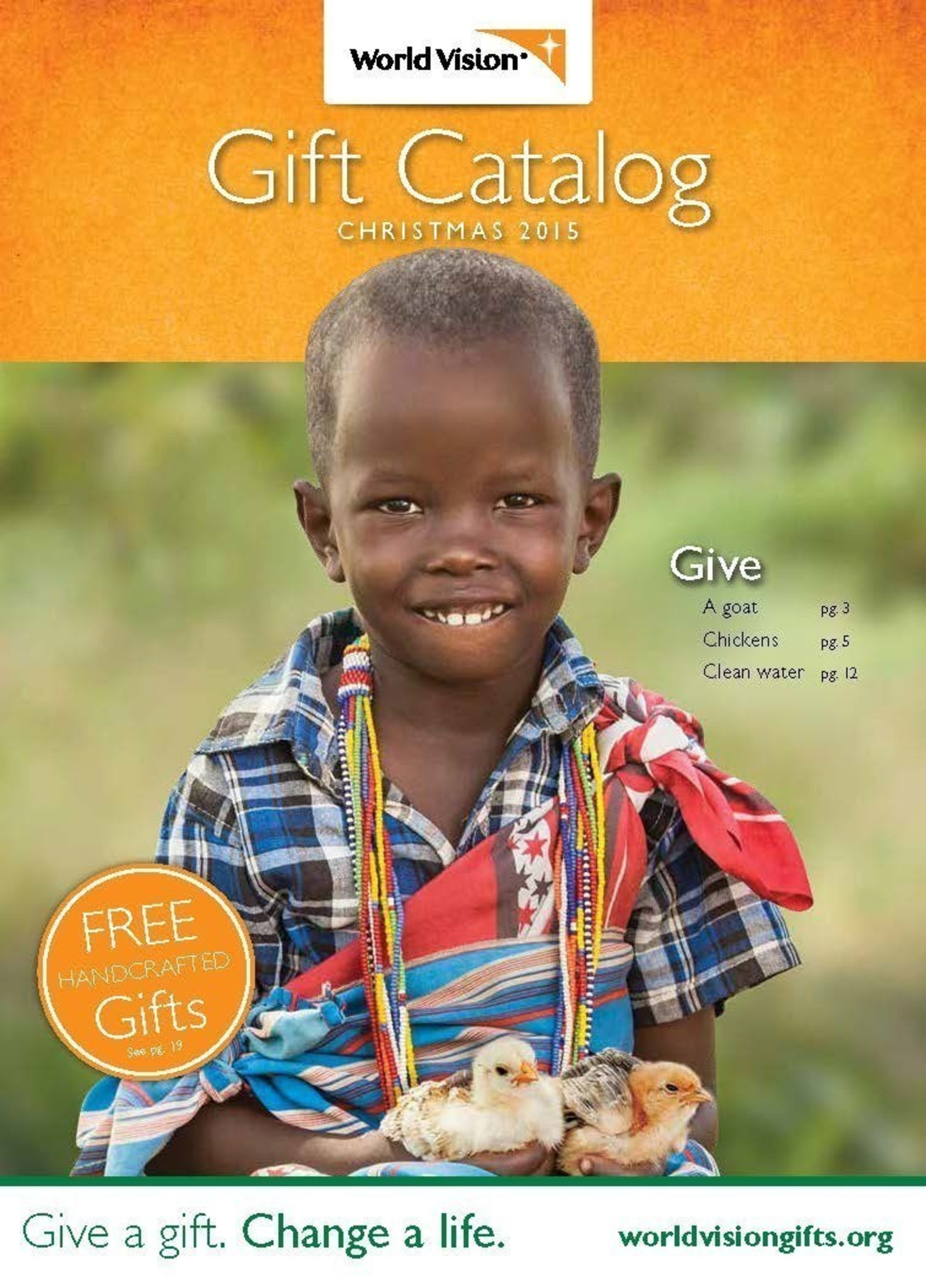 This Christmas, World Vision\'s Gift Catalog celebrates 20 years of ...