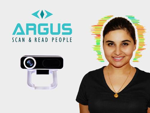 ARGUS - Scan & Read People (PRNewsFoto/Crawford Technologies)