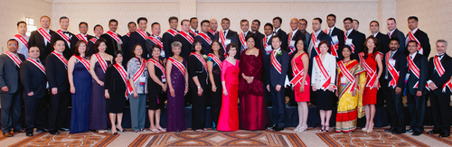 "Winners of the USPAACC 2014 ""Fast 50 Asian American Businesses"" Award with PepsiCo Chairman and CEO ..."