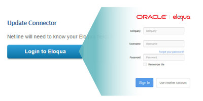 NetLine Portal's LeadFlow Connector for Oracle Eloqua easily connects newly generated leads to Oracle Eloqua users through the Oracle Marketing Cloud.