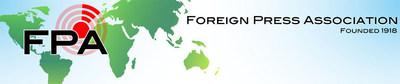 Logo: The Foreign Press Association