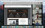 Tixeo on Mac with desktop sharing