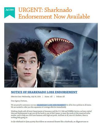 BIG Shark, Big on Social Media (PRNewsFoto/Bankers Financial Corporation)