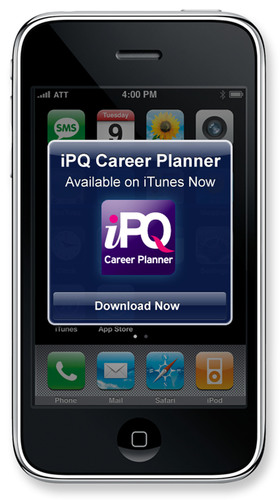 iPQ Career Planner iPhone App Gives Job Hunters an Inside Edge to Determine Their Best Career Match
