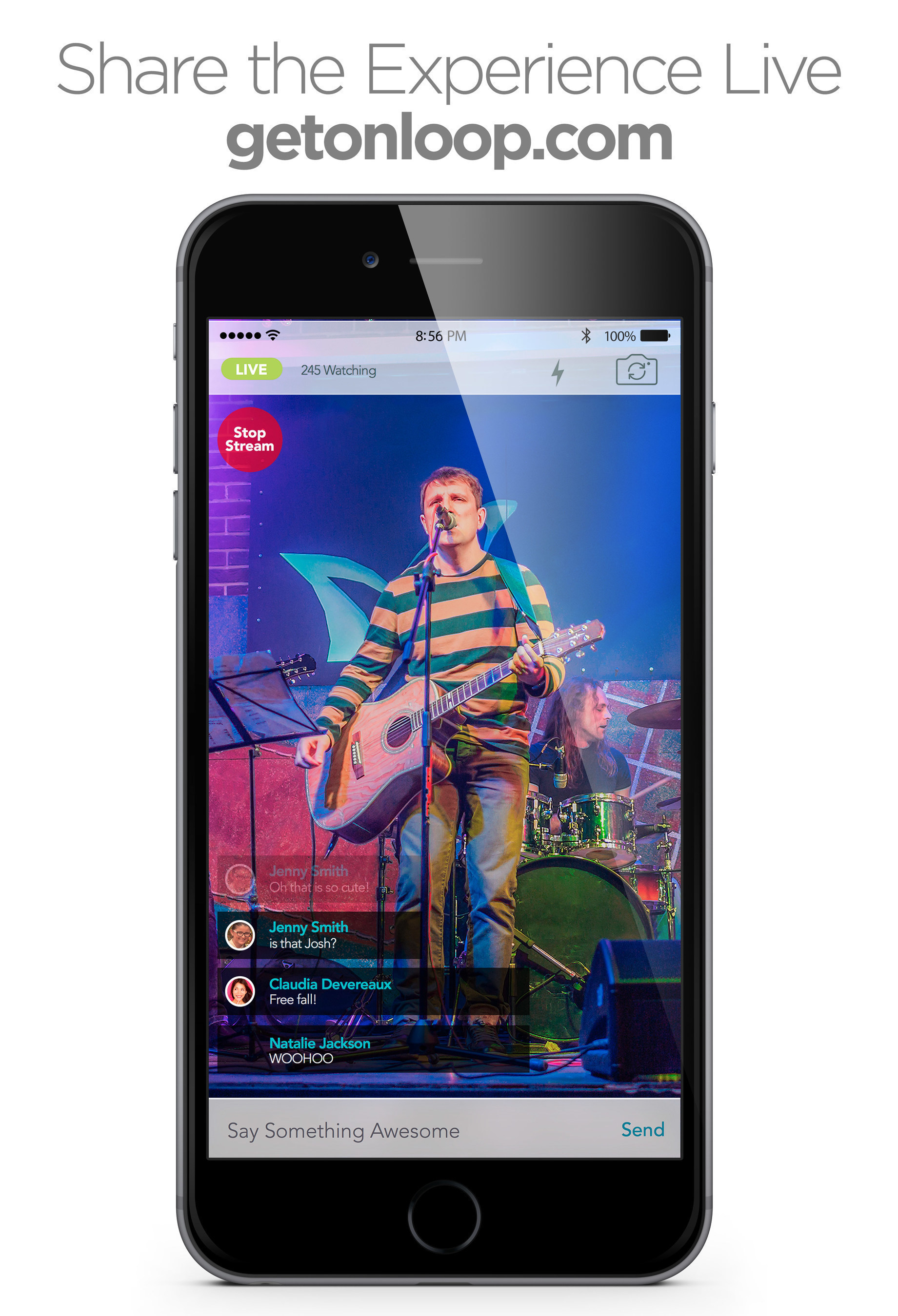 onLoop Reinvents Live Streaming With An Integrated Multi User Approach Called Crowd Streaming
