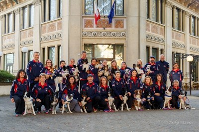 IFCS Team USA ready to compete at the World Agility Championships.