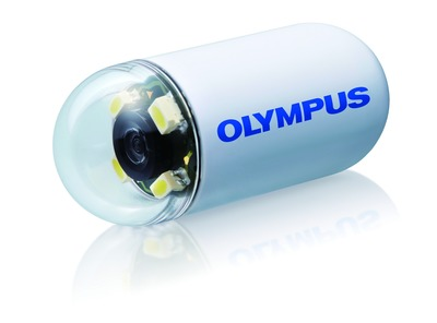Olympus' ENDOCAPSULE 10 System offers new innovations for capsule endoscopy with outstanding visualization, improved efficiency and enhanced user features for optimal clinical performance and improved patient comfort. (PRNewsFoto/Olympus)