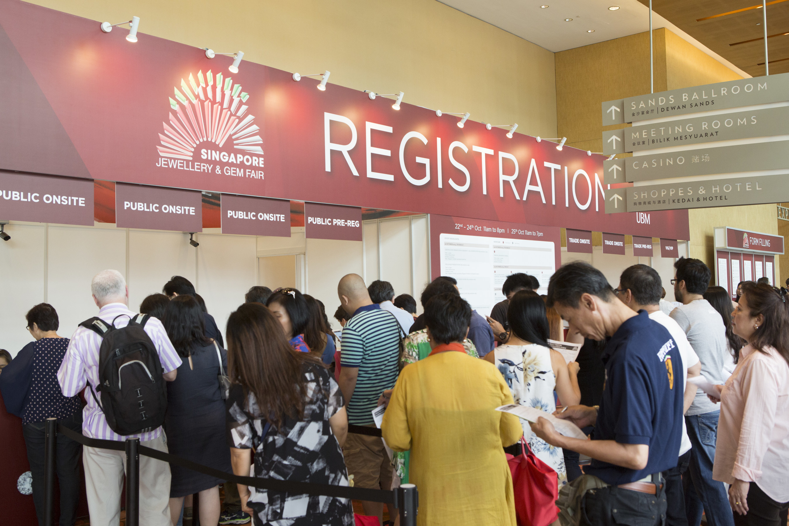 Singapore Jewellery & Gem Fair 2015 - the most significant fine jewellery event in the region