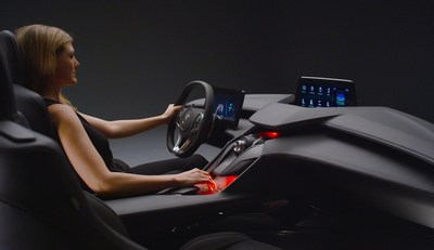 Debuting at AutoMobility LA, the Acura Precision Cockpit previews Acura's next-gen interior and technology.