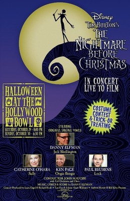 HALLOWEEN AT THE HOLLYWOOD BOWL- TIM BURTON'S THE NIGHTMARE BEFORE CHRISTMAS- IN CONCERT LIVE TO FILM.