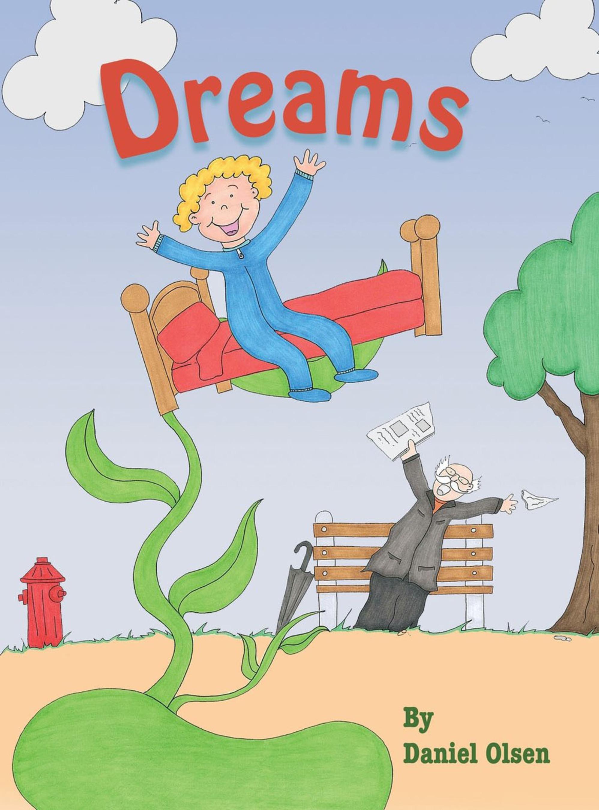 Dreams by Daniel Olsen book cover.  (PRNewsFoto/Daniel Olsen)