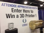 An Up! Mini 3D printer and a FlashForge Dreamer 3D printer will be given away December 3-4 at BIOMEDevice San Jose.