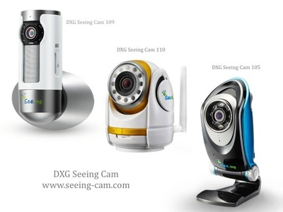 Prepare your home for summer travel with the new DXG Seeing Cam Wi-Fi video monitoring camera. Experience live streaming video of homes and businesses to iOS and Android smartphones, with HD video recording,  storage in the cloud or on device SD card, two-way audio, 10x zoom and pan tilt functions. Available from $119.99 at Amazon, Fry's, Sharper Image, Smart Home or at www.seeing-cam.com.