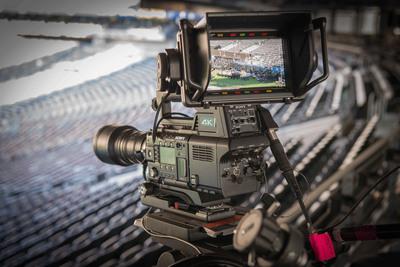 Sony's F55 4K camera.  (PRNewsFoto/Sony Electronics)