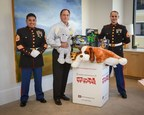CalAtlantic Homes President and Chief Executive Officer, Larry T. Nicholson joins the Marines to celebrate the season with a $25,000 Donation to Marine Toys for Tots. The Company's  540 Model Home Communities Will Serve as Official Toy Drop Off stations.