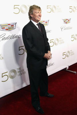 Television and film director and producer, Nigel Lythgoe, hosts The Music Center's 50th anniversary launch party sponsored by Cadillac.  (PRNewsFoto/The Music Center)