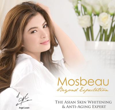 Angel Locsin - Mosbeau.  (PRNewsFoto/Flawless Beauty and Skin)