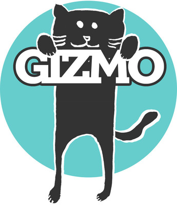 Gizmo, formerly the office cat and inspiration for Eat.Sleep.Work., Inc.  (PRNewsFoto/Eat.Sleep.Work, Inc.)