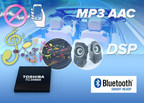Toshiba Bluetooth IC with integrated DSP targets automotive audio streaming and hands-free subsystems.