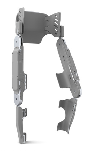 The Parker Exoskeleton offers individuals with spinal cord injury and stroke the opportunity to walk again.  (PRNewsFoto/Parker Hannifin Corporation)