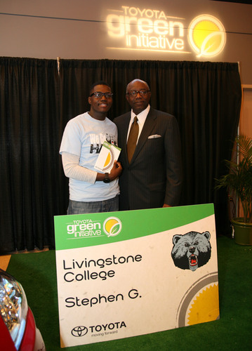 Toyota Raises Green Consciousness With African American Consumers at the 66th Annual CIAA