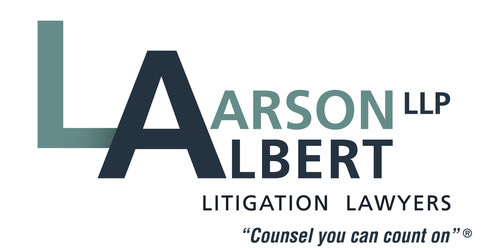 Larson | Albert LLP Logo. (PRNewsFoto/Larson Albert LLP) (PRNewsFoto/LARSON ALBERT LLP)