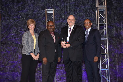 Pictured from left to right: Lauren Scheib, ATP COO; Andre Allen, 2016 ATP Chair; Dr. Timothy Vansickle; and Dr. William G. Harris, ATP CEO