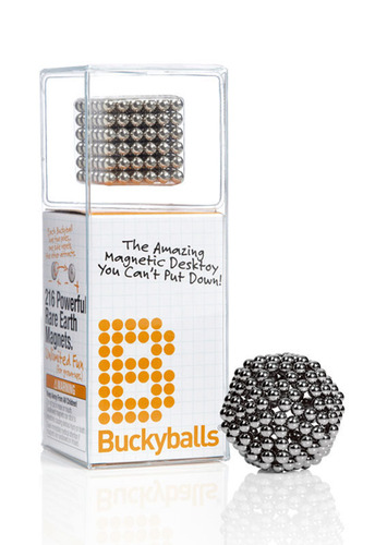 Buckyballs.  (PRNewsFoto/Maxfield and Oberton)