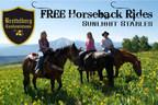 Less Than a Month Left for Free Horseback Riding at The Brettelberg Condos at Colorado's Sunlight Mountain Resort - Glenwood Springs (PRNewsFoto/Brettelberg Hotel-Condos at Sunl)