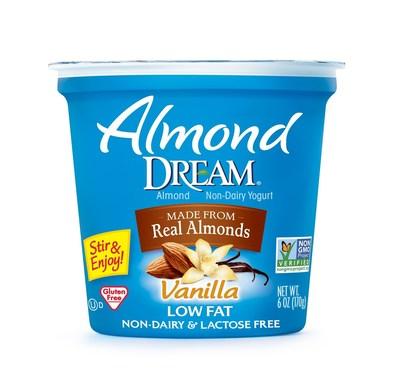 Almond Dream(R) Non-Dairy Vanilla Yogurt Now Non-GMO Project Verified