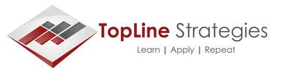 TopLine Strategies logo, visit us at www.toplinestrategies.com to learn more.