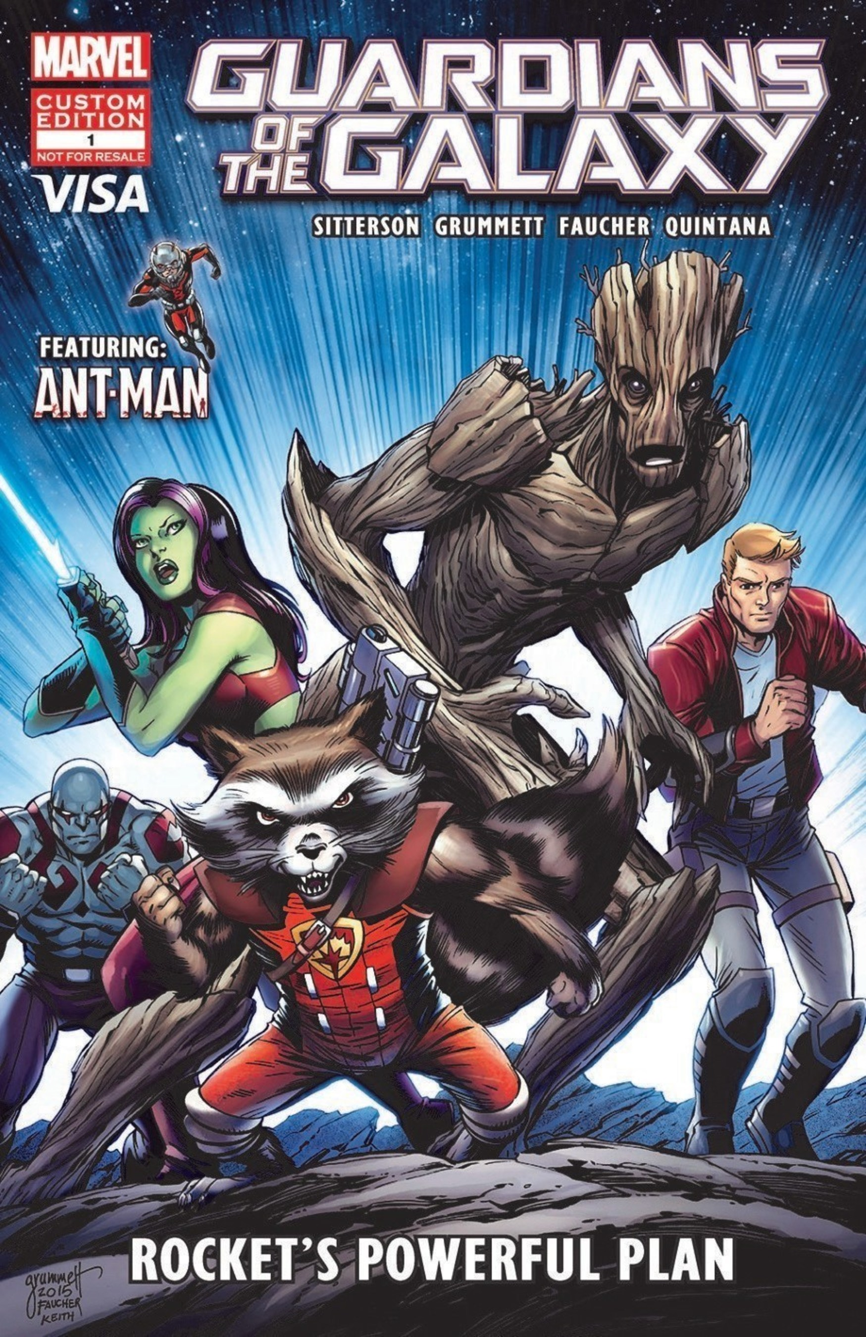 """Visa Teams Up with Marvel to Offer Financial Education through """"Guardian"""" Comic Book"""
