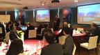Viktor Varkonyi, CEO, GRAPHISOFT, presents GRAPHISOFT's BIMcloud Solution in Tokyo, March 25.  (PRNewsFoto/GRAPHISOFT)