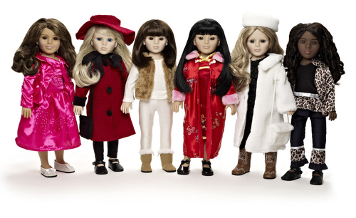 Global Girl Launches Innovative Collection of Ethnically Diverse Dolls and Books. (PRNewsFoto/Three Daughters International)