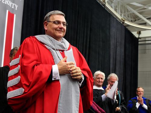 Dr. Petillo Inaugurated President at Sacred Heart University