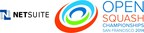 NetSuite Open Squash Returns to San Francisco Sept. 24-30 (PRNewsFoto/NetSuite)