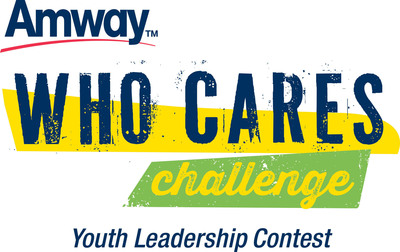 Amway Who Cares Challenge Youth Leadership Contest.  (PRNewsFoto/Amway)