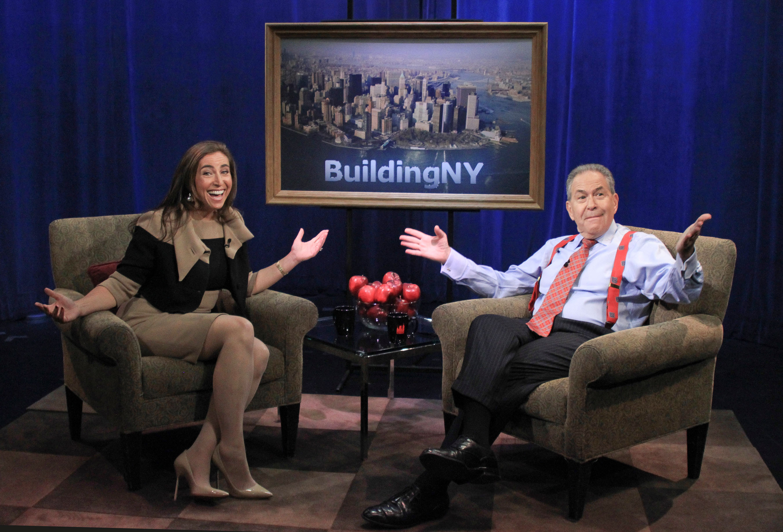 """""""Building New York-New York Life Stories,"""" with renowned commercial real estate columnist, television and radio personality Michael Stoler, premiers its second episode of its ninth season with a profile of the nation's leading real estate publicist Roxanne Donovan, founder of Great Ink.  (PRNewsFoto/Great Ink Communications, LLC)"""
