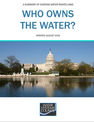 """The Water Systems Council has released the 2016 update to """"Who Owns the Water?,"""" a comprehensive summary of groundwater rights in the U.S."""
