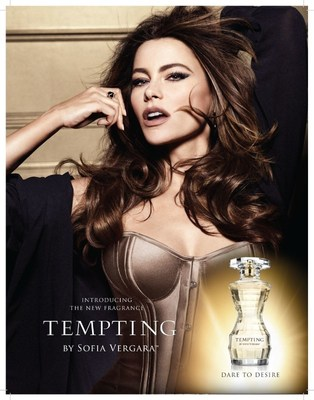 Imagen de la campana publicitaria de Tempting by Sofia Vergara